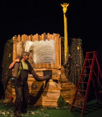 Prachtig theater voor kleuters en peuters